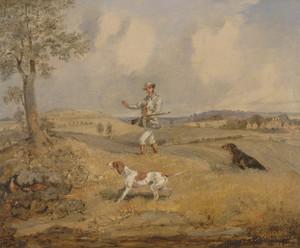 Art Prints of Partridge Shooting by Henry Thomas Alken