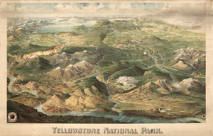 Art Prints of Yellowstone National Park by Henry Wellge
