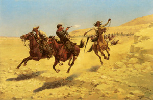 Art Prints of The Chase by Herman Wendelborg Hansen