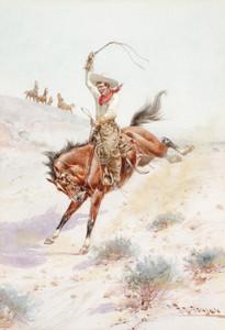 Art Prints of A Kicker by Herman Wendelborg Hansen