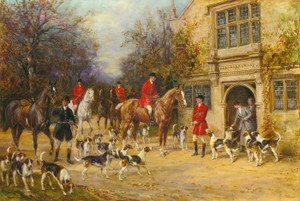 Art Prints of Before the Hunt by Heywood Hardy