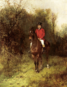 Art Prints of Master of the Atherstone Hunt by Heywood Hardy