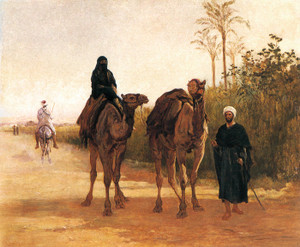 Art Prints of The Travellers, 1874 by Heywood Hardy