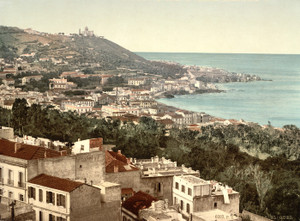 Art Prints of Babel Oued from Casbah, Algiers, Algeria (387060)