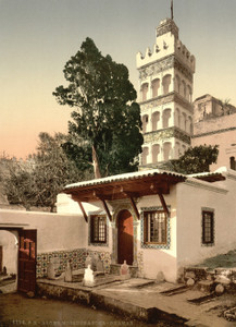 Art Prints of Mosque of Abder Rhaman, Algiers, Algeria (387067)