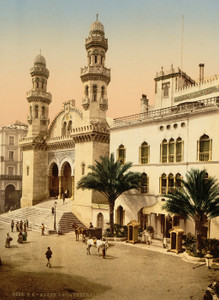 Art Prints of Cathedral, Algiers, Algeria (387071)