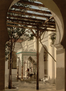 Art Prints of Fountain in Mosque of El Kebir, Algiers, Algeria (387077)