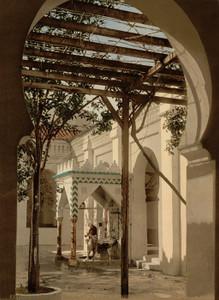 Art Prints of Fountain in Mosque of El Kebir, Algiers, Algeria (387077)