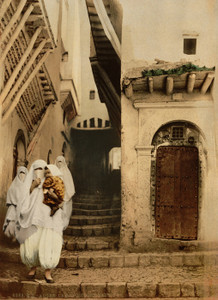 Art Prints of Street of the Camels, Algiers, Algeria (387075)
