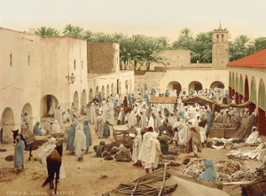 Art Prints of Market, Biskra, Algeria (387112)