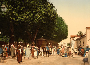 Art Prints of Arab Market, Blidah, Algeria (387115)