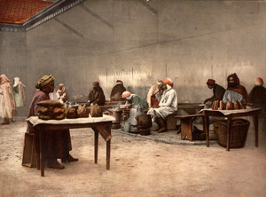 Art Prints of Merchants of Eatables, Bona, Algeria (387118)