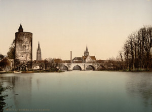 Art Prints of Le Lac d'Amour, Bruges, Belgium (387159)
