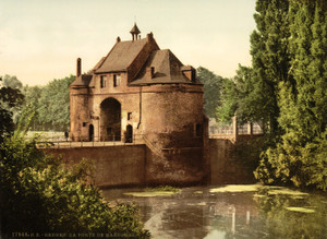 Art Prints of The Marechal Gate, Bruges, Belgium (387160)