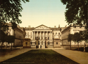 Art Prints of The Palace of Nations, Brussels, Belgium (387167)