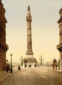 Art Prints of Column of Congress, Brussels, Belgium (387176)