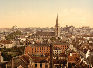 Art Prints of General View, Louvain, Belgium (387209)