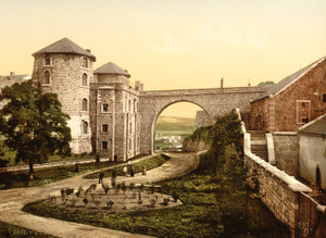 Art Prints of Chateau des Comtes, Namur, Belgium (387211)