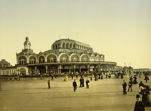 Art Prints of The Kursaal or Cursaal, Ostend, Belgium (387219)