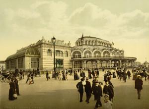 Art Prints of The Kursaal or Cursaal, Ostend, Belgium (387220)