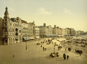 Art Prints of The Embankment, West Part, Ostend, Belgium (387226)