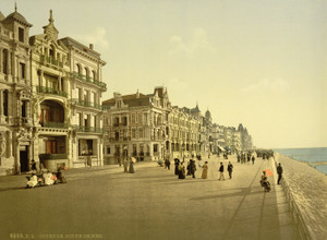 Art Prints of The Embankment, Ostend, Belgium (387225)