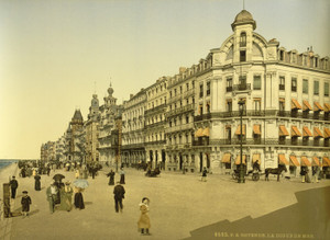 Art Prints of The Embankment and Kursaal or Cursaal, Ostend, Belgium (387228)