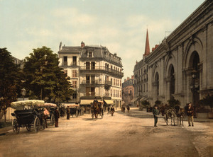 Art Prints of Place de l'Etablissment Thermal, Aix France (386963)