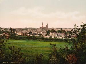 Art Prints of General View, Bayeux France (386978)