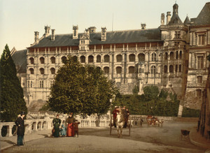 Art Prints of THe Castle Wing of Francis I, the Facade, Blois France (386994)