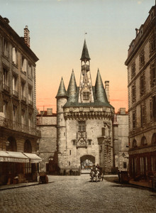 Art Prints of Sevigne Gate, Bordeaux, France (386999)