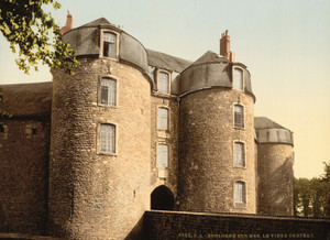 Art Prints of The Old Castle, Boulogne, France (387002)