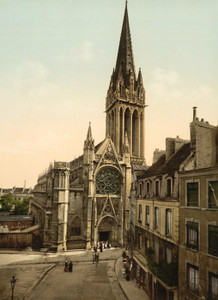 Art Prints of St. Pierre Church, Caen, France (387016)