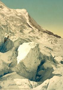 Art Prints of Ascension du Mont Blanc, Chamonix Valley, France (387037)