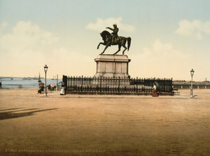 Art Prints of Statue of Napoleon I, Cherbourg, France (387047)