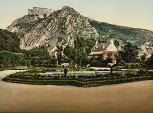 Art Prints of The Mountain and Fort du Roule, Cherbourg, France (387051)