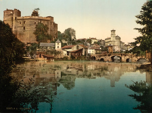 Art Prints of General View, Clisson, France (387056)