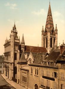 Art Prints of Notre Dame, Dijon, France (387263)