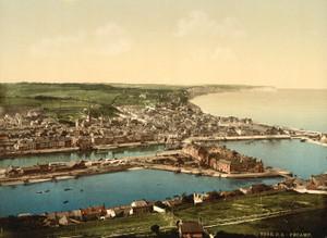 Art Prints of General View, Fecamp, France (387280)