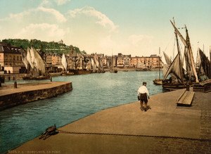 Art Prints of The Port, Honfleur, France (387311)