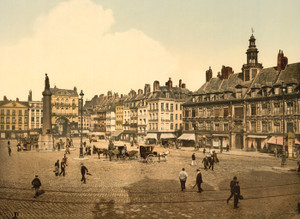 Art Prints of La Grande Place, Lille, France (387320)