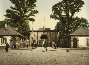 Art Prints of Marbihan Gate, Lorient, France (387322)