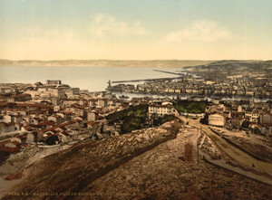 Art Prints of General View from Notre Dame de la Garde, Marseilles, France (387346)