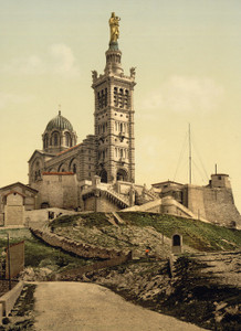 Art Prints of Notre Dame de la Garde II, Marseilles, France (387359)