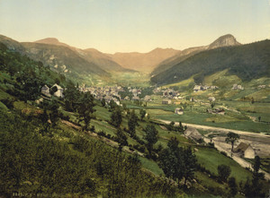 Art Prints of General View, Monte Dore, France (387372)