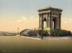 Art Prints of The Water Castle, Montpelier, France (387382)