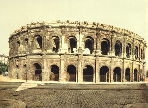 Art Prints of The Arena Exterior, Nimes, France (387395)