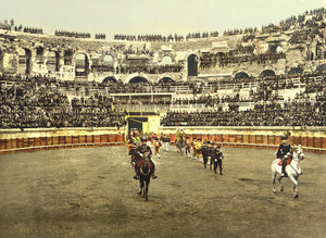 Art Prints of The Arena, Bull Ring, Nimes, France (387397)