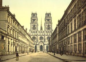 Art Prints of Joan of Arc Street, Orleans, France (387405)