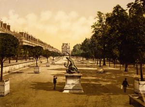 Art Prints of The Tuileries Garden, Paris, France (387417)